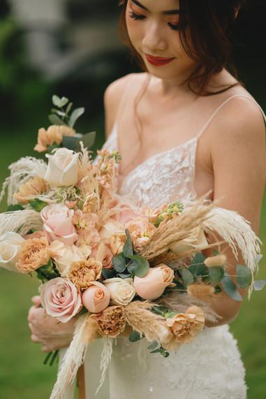 Pampas PWS Bouquet for Audrey