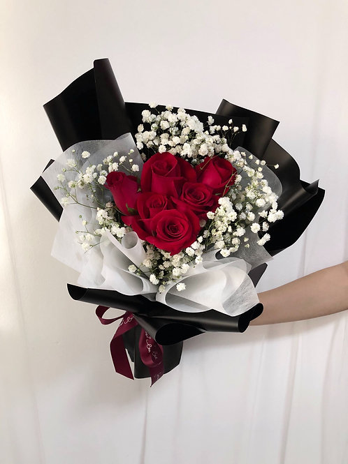6' Roses