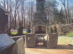 Stone Fire Place 3