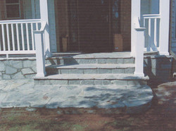 Stone Front Porch Ashburn