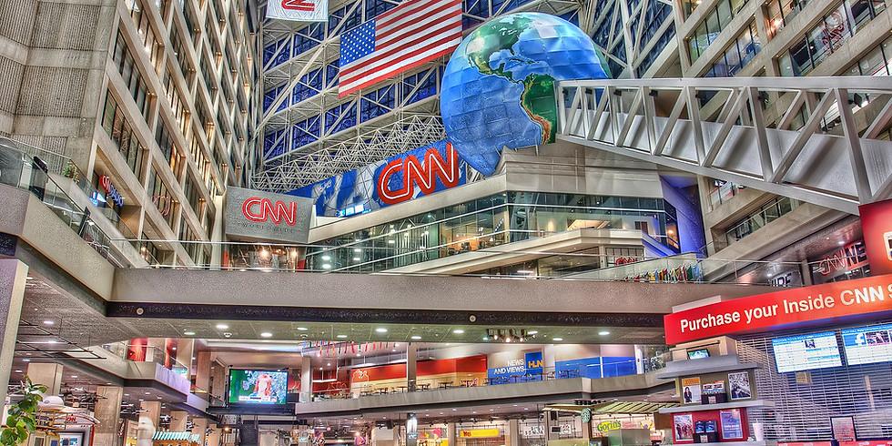 Afghanistan Protest: CNN Center