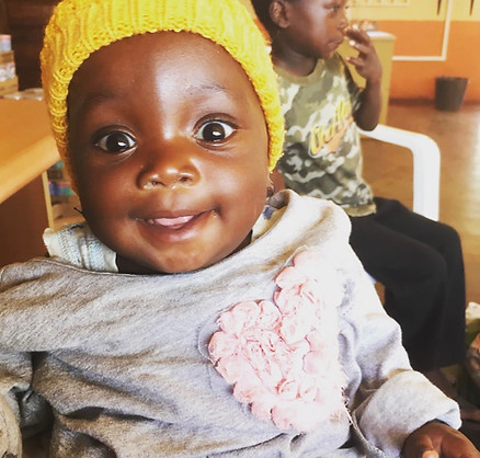 One of the happiest babies from our clinic.