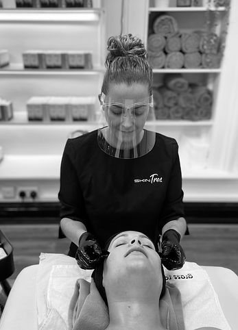 Grass Roots Facial | CBD Facial | Experience the facial