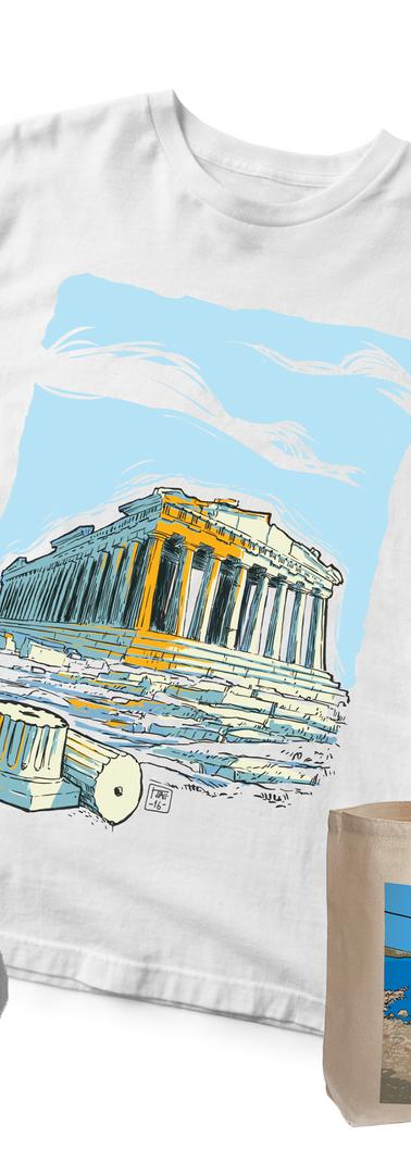 Ilustrations for Greek Souvenirs