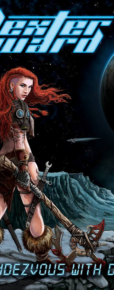 """Final front cover illustration for Dexter Ward - """"Rendezvous With Destiny"""""""