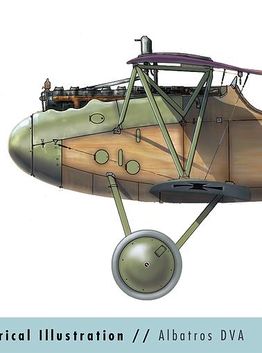 Aviation Art -Side View