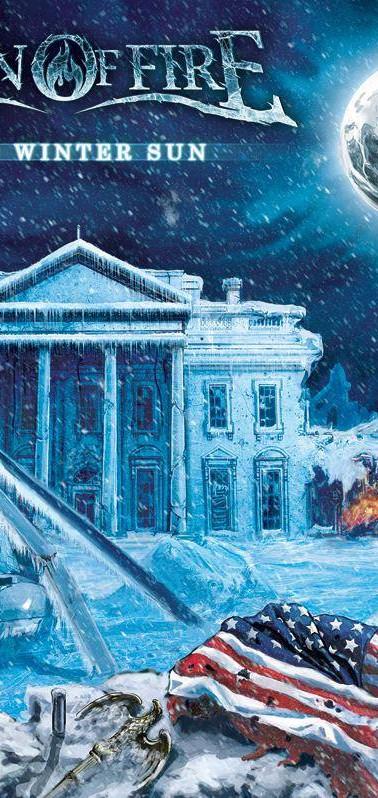 "Front Cover Illustration For Born of Fire - ""Dead Winter Sun"""