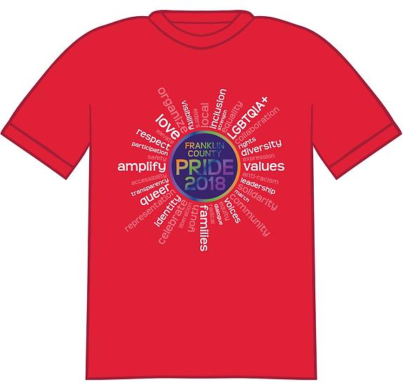 Pride T-Shirt - 2018