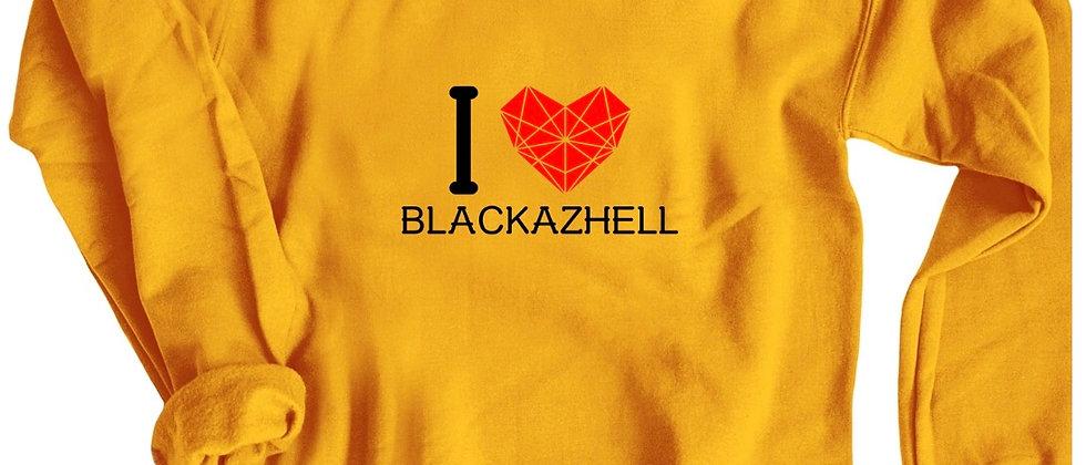 I Love Blackazhell Crewneck Sweatshirt
