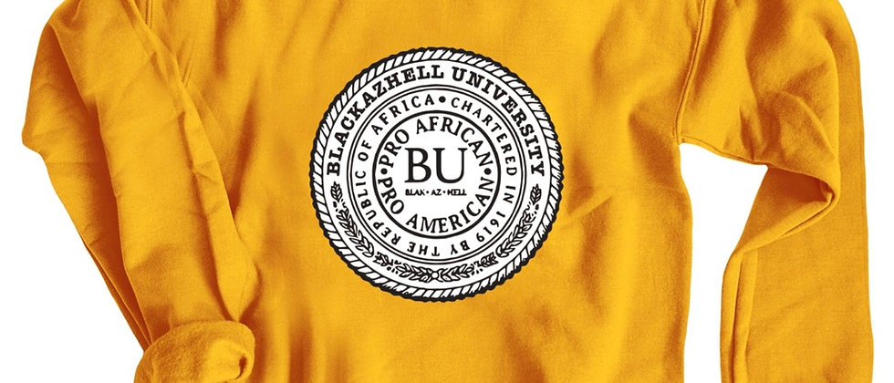 Blackazhell University Logo Crewneck Sweatshirt