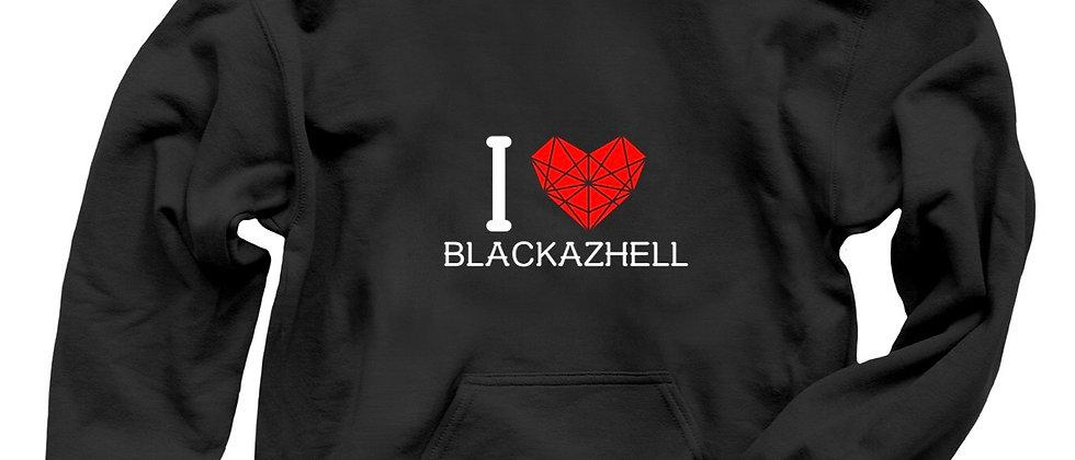 I Love Blackazhell Hoodie