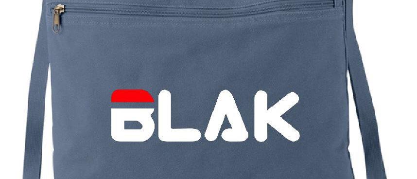 """""""B L A K"""" Canvas Bag"""