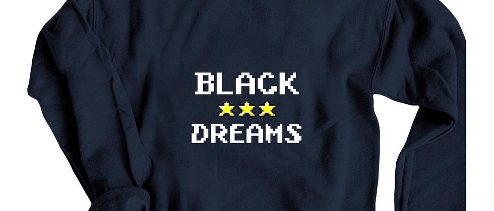 Black Dreams Crewneck Sweatshirt