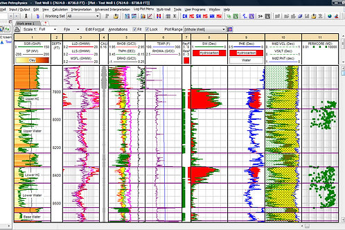 Dubai, UAE- Petrophysics Well Log Interpretation / Instructor: Nuno Couto, Ph.D.