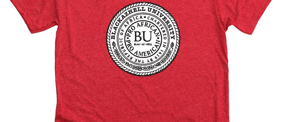 Blackazhell University Logo Tee