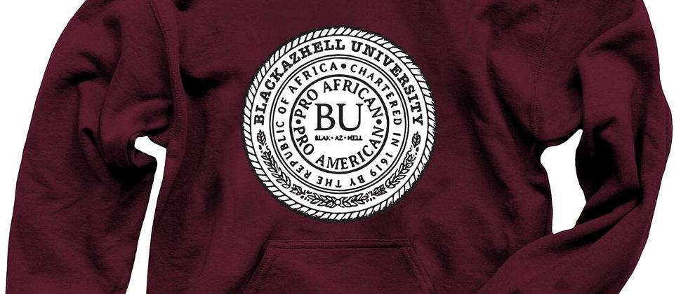 Blackazhell University Logo Hoodie