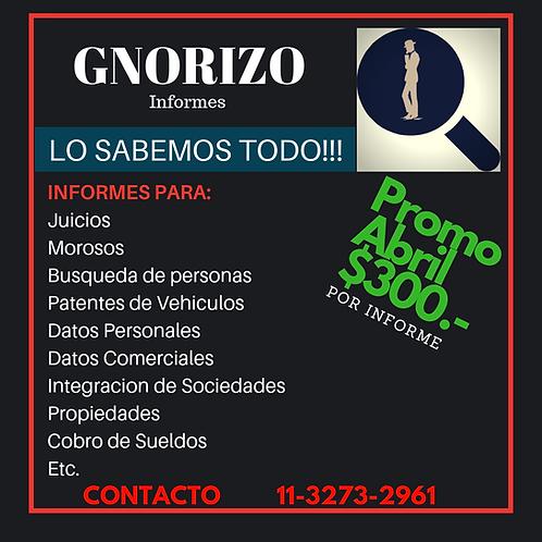 Informe Personal y Comercial