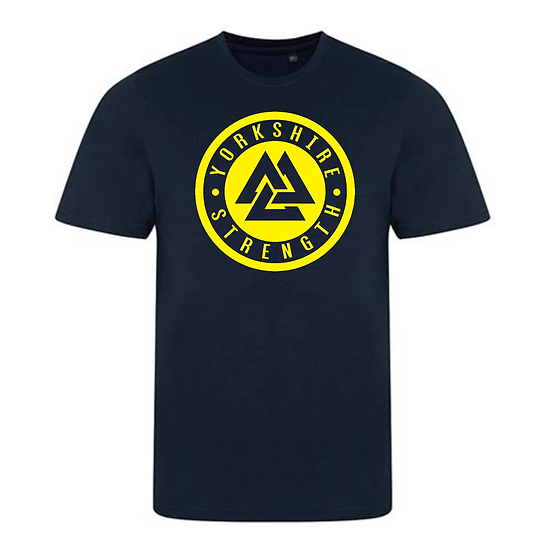 ATHLETE: Yorkshire Strength Ladies T-Shirt - Navy