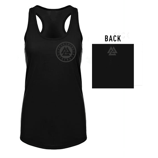 Black silicone style Ladies Vest