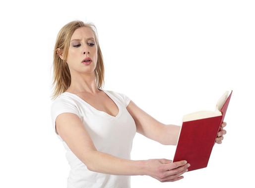 Les symptômes de la presbytie