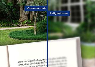 vision astigmate - Atol opticien Istres