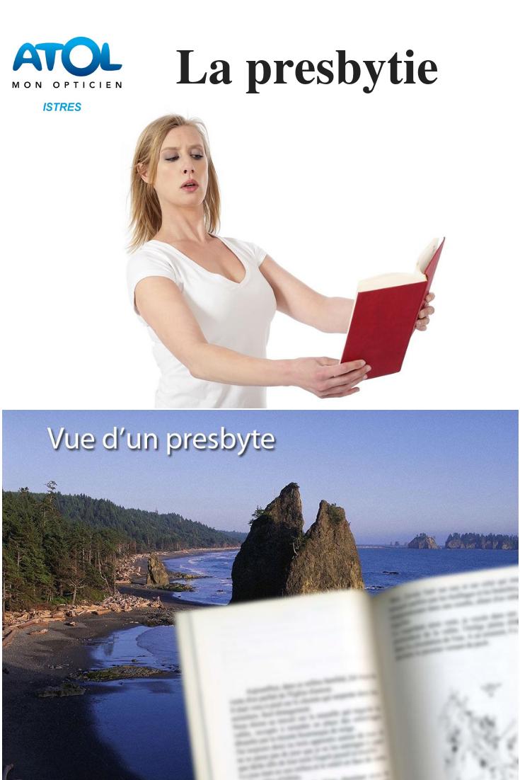 symptôme de la presbytie