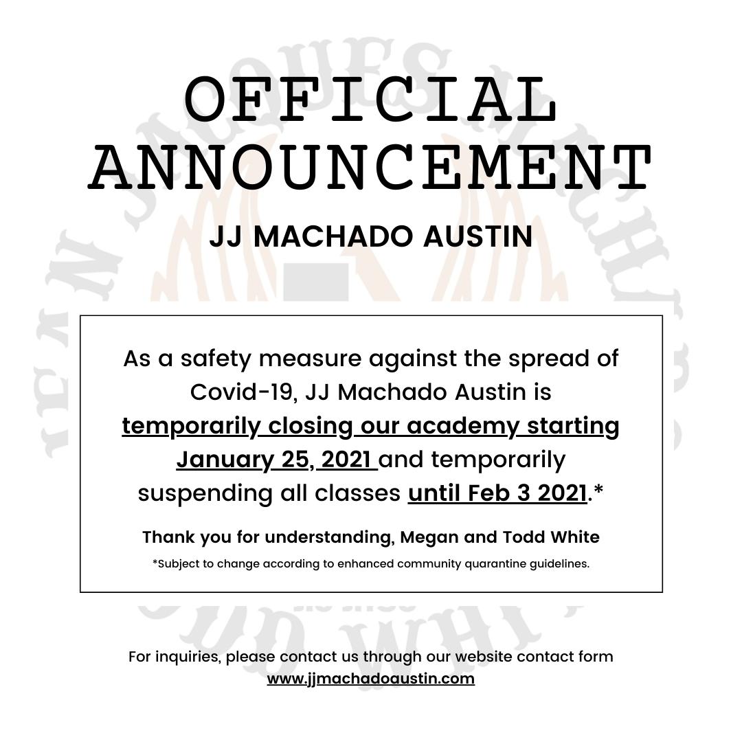 JJ MACHADO AUSTIN SHUTDOWN (1)