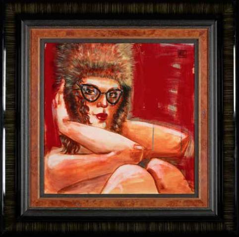 fuzzy feelings framed original