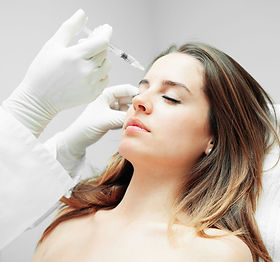 Woman receiving Botox Injectable
