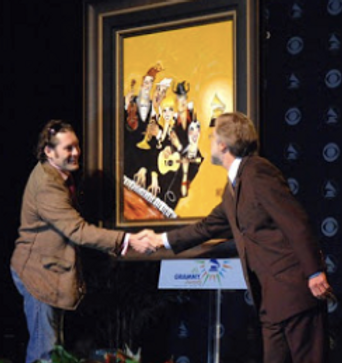 Todd Unveils Official Painting For Gramm