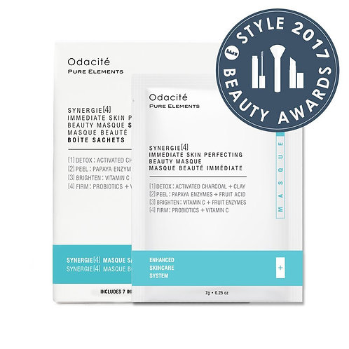 Odacite Synergie Synergie 4 Immediate Skin Perfecting Beauty Masque Sachet Box