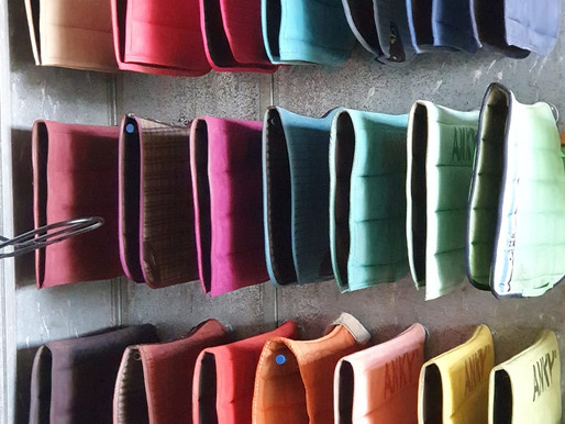 Saddle pads - what we use for every day riding and how we keep them in tip-top shape