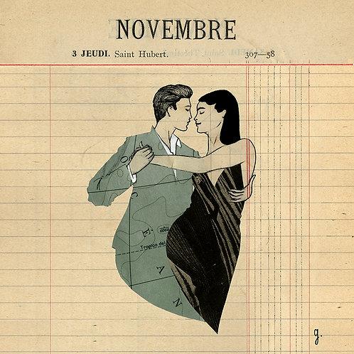 """""""ABRAZOS"""" : NOVEMBER"""
