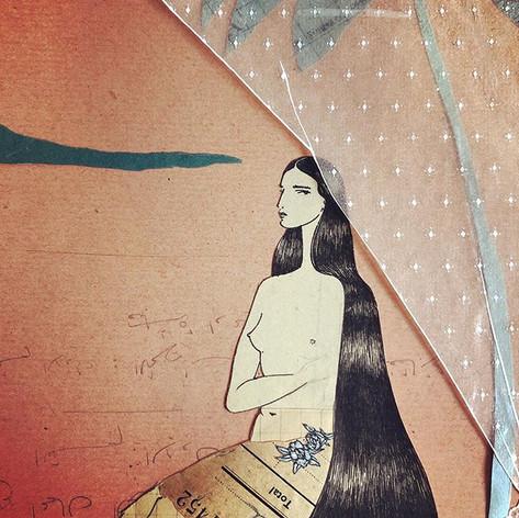 Penelope . . . . . #coronamuse #collage