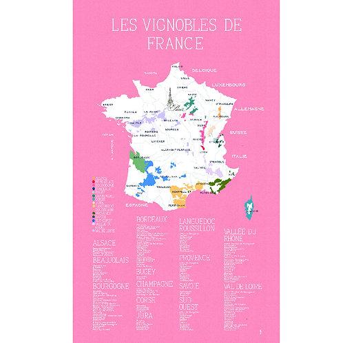LES VIGNOBLES DE FRANCE