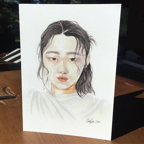 """""""Simple Elegance"""" - Greeting Card"""