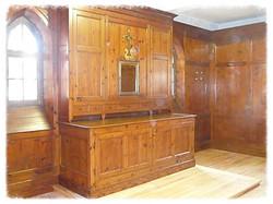 meuble sacristie aprés restauration