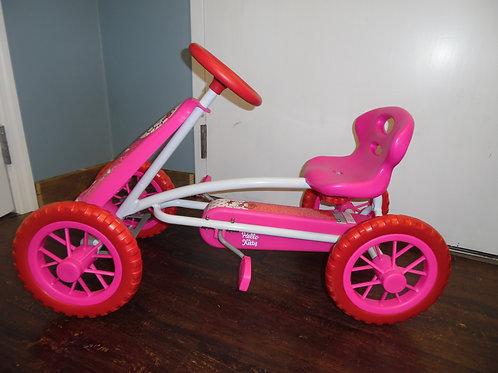 Hello Kitty pedal car