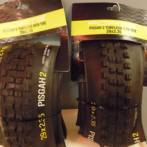Forte Pisgah 2 Tubeless MTB tires