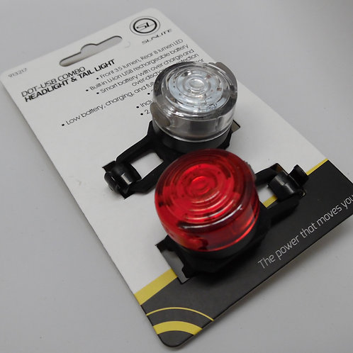 Sunlite Rechargeable Bike Light Set