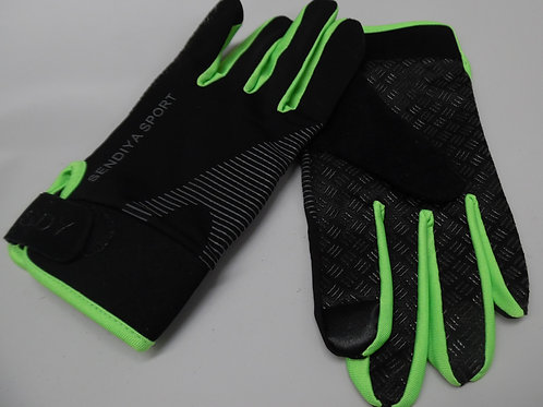 Full finger non-slip cycling glove