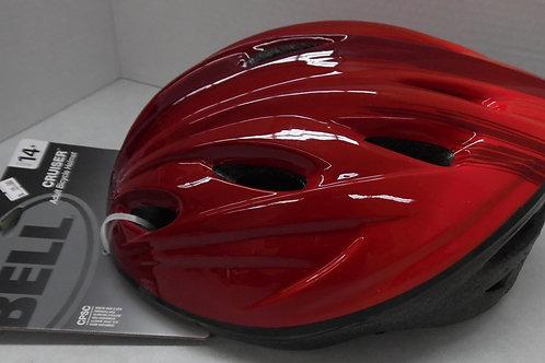 Bell adult Ombre red helmet