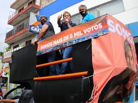 Lisandro percorre 30 bairros para agradecer o apoio nas eleições