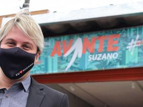No Dia da Democracia, Lisandro confirma candidatura a prefeito de Suzano