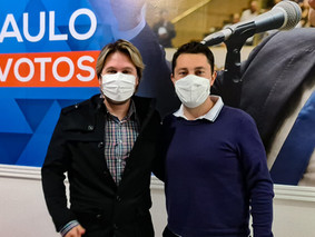Lisandro e Gambale trabalham para instalar Hospital Veterinário no Alto Tietê