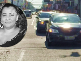 Carreata e buzinas marcam última homenagem à Bianca Nunes, professora que morreu no domingo