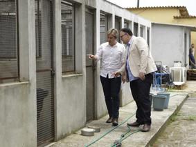 Lisandro comemora anuncio da reforma do canil municipal