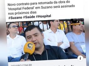 Após cobrança de Lisandro, prefeito volta a prometer construção de Hospital