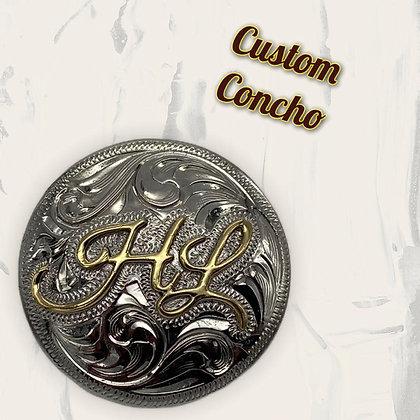 CUSTOM CONCHO ab;