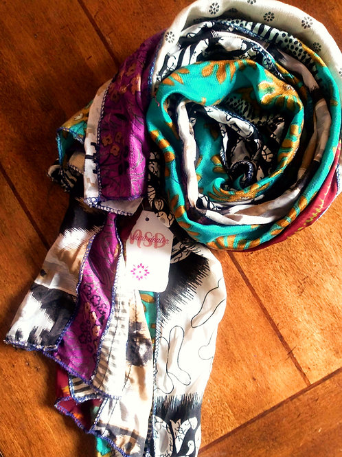 Scarf- Surprise me with color!